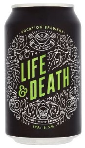 Vocation Life & Death Can 12x330ML (Case Only)