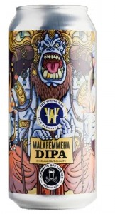 White Hag Malafemmena DIPA Can 440ML