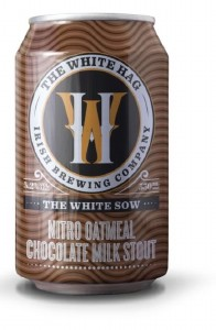 White Hag 'The White Sow' Nitro Oatmeal Chocolate Milk Stout Can 330ML