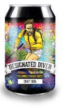 Yellowbelly Designated Diver Craft Soda Can 330ML