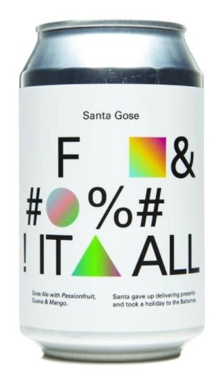 To Øl Santa Gose F&#%! It All 2.0 Can 330ML