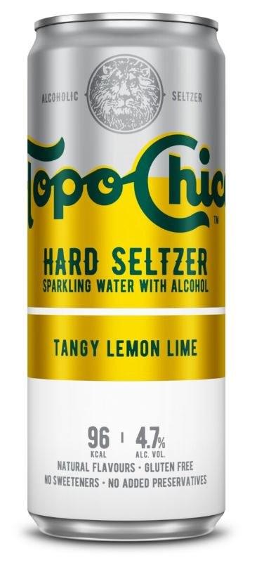 Topo Chico Hard Seltzer Tangy Lemon Lime 330ML
