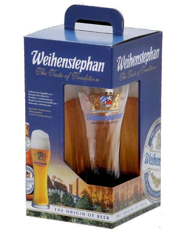 Weihenstephaner Gift Pack 3 Bottle + Glass