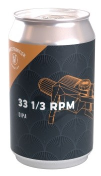 White Frontier 33 1/3 RPM DIPA Can 330ML