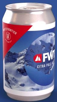 White Frontier FWT Citra Pale Ale Can 330ML
