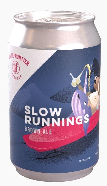 White Frontier Slow Runnings Can 330ML