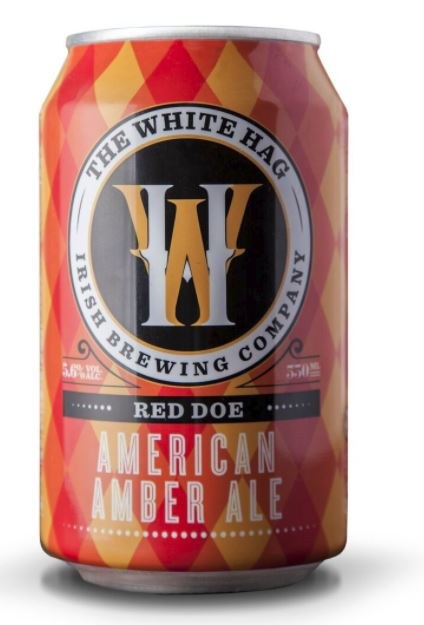 White Hag 'Red Doe' American Amber Ale Can 330ML