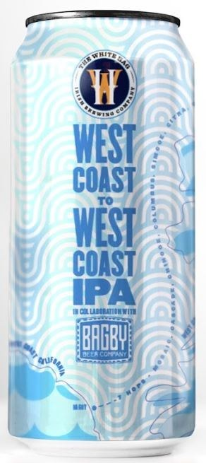 White Hag Bagby West Coast to West Coast IPA Can 440ML