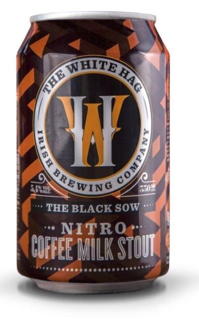 White Hag 'The Black Sow' Nitro Can 330ML