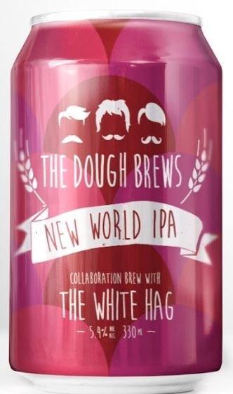 White Hag Dough Brews New World IPA Can 330ML