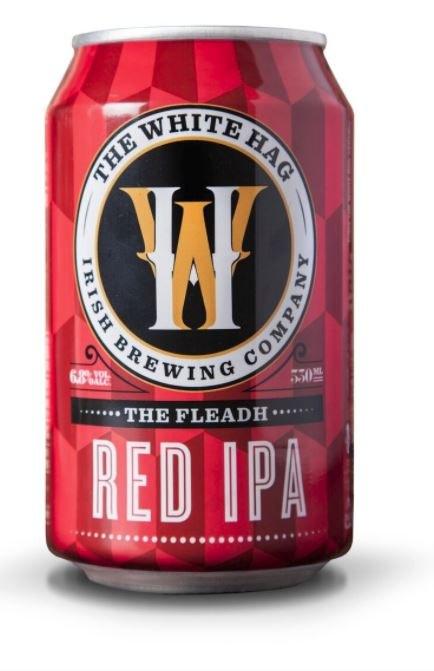 White Hag 'The Fleadh' Red IPA Can 330ML