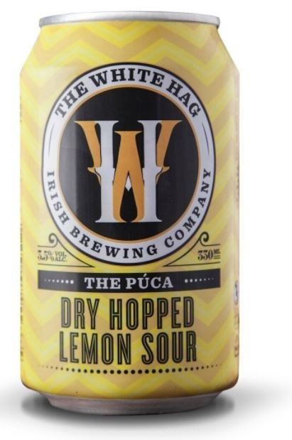 White Hag 'The Puca' Dry Hopped Lemon Sour Can 330ML