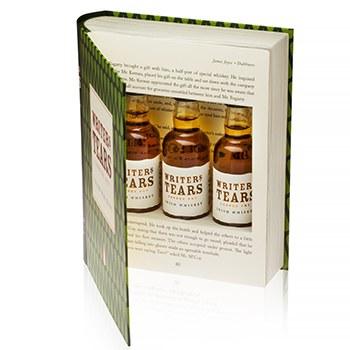 Writers Tears 'Book' Gift Pack 3x50ML