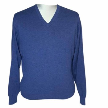 Fusion V-Neck Men's Big and Tall Sweater- 8 Colours