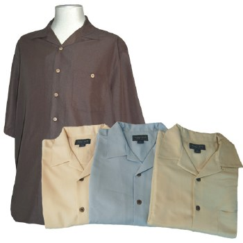 Indygo Smith Short Sleeve Casual Camp Shirt