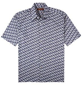 Tori Richard Cotton Lawn Short Sleeve Shirt
