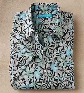 Tori Richards Floral Print Shirt