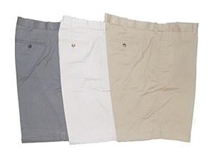 Big and Tall Flat Front Shorts