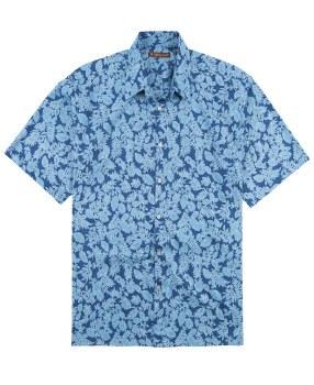 Tori Richard Impressed Short Sleeve Shirt