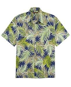 Tori Richard Palms Short Sleeve Shirt