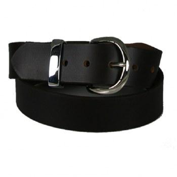 Boston Leather Harness Buckle Belt