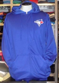 Blue Jays Full Zip Hooded Fleece