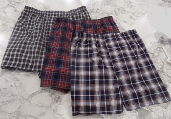 Ultimate 3 pack  Assorted Plaid Boxers