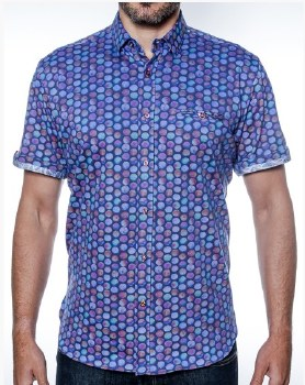 2205 Ink Eclipse Short Sleeve Sport Shirt