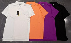 Callaway Cooling Solid Micro Hex Polo