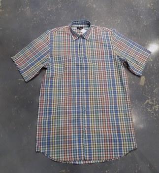 Jon Randall Plaid Short Sleeve Shirt