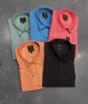 FX Fusion Textured Solid Short Sleeve Sport Shirt