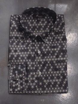 Jon Randall Hexagon Long Sleeve Shirt