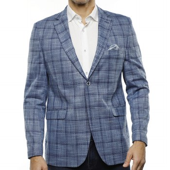 Luchiano Visconti Plaid Sport Coat