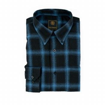 FX Fusion Windowpane Long Sleeve Shirt