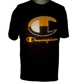 Champion Black Gold Tee