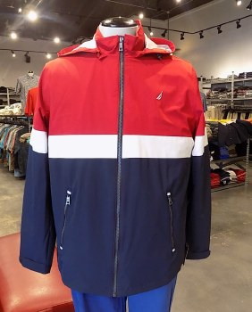 Nautica Stretch Colour Block Jacket