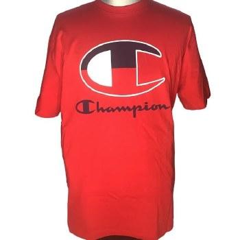 Champion Red C Tee