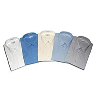 London's Big & Tall EasyCare Short Sleeve Dress Shirt