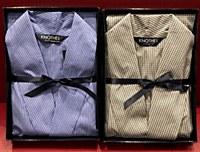 Lux Cotton Long Sleeve Lightweight Robe