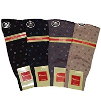 Vannucci Mercerized Circle Cotton Socks