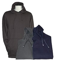 Athletic Pro-Cotton Pullover Hoodie