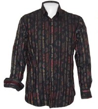 Luchiano Visconti Blooming Long Sleeve Sport Shirt