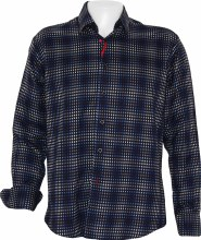 Luchiano Visconti  Box Long Sleeve Sport Shirt