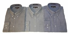 Falcon Bay Button Down Oxford Long Sleeve Sport Shirt