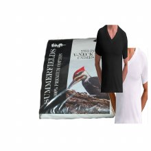 Summerfields Two Pack V-Neck Undershirt