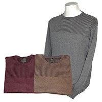 FX Fusion Ribbed Crew Neck Sweater