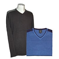 FX Fusion Layered V-Neck Sweater