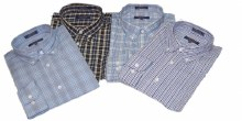 Indygo Smith Wrinkle Resistant Long Sleeve Sport Shirt