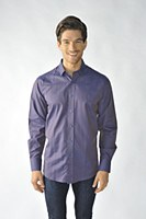 2205 Ink Polka Dot Long Sleeve Shirt