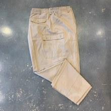 Big and Tall Elastic Cargo Pant-Black,Navy,Khaki